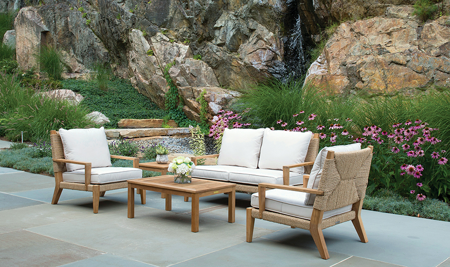 Etonnant Kingsley Bate: Elegant Outdoor Furniture